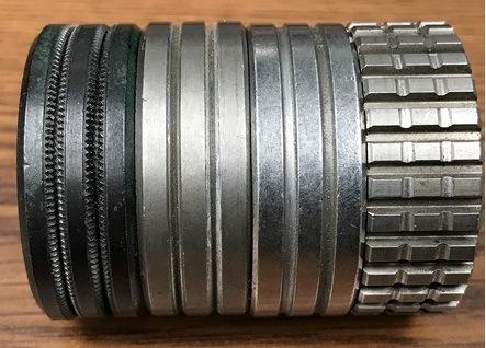 The drive rolls in a welder