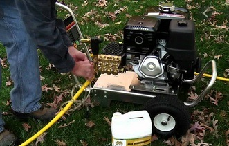 How Does An Electric Pressure Washer Work