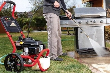How To Use Gas Pressure Washer