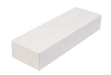A sharpening block to use for the tile saw blade