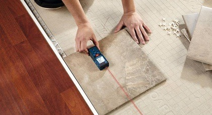 Do not forget to measure your tiles carefully!