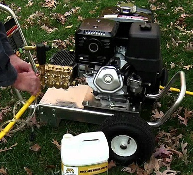 How Does A Gas Pressure Washer Work?