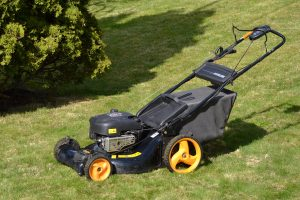 What kind of oil does a lawn mower take?