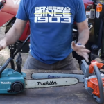 How to use the electric or gas chainsaw proprely